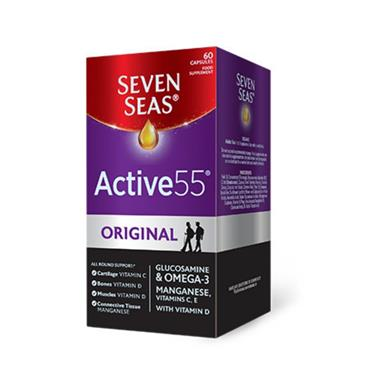 SEVEN SEAS SEVEN SEAS ACTIVE 55 ORIGINAL 60 CAPSULES