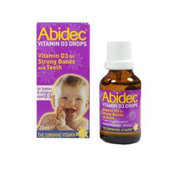 ABIDEC ABIDEC VITAMIN D3 DROPS 25ML