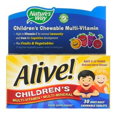 ALIVE! CHILDRENS CHEWABLE OAD 700109 755382