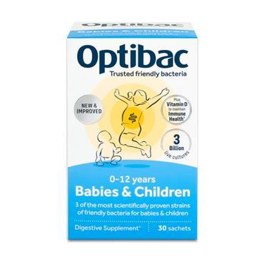 OPTIBAC OPTIBAC PROBIOTICS FOR BABIES AND CHILDREN 30 SACHETS