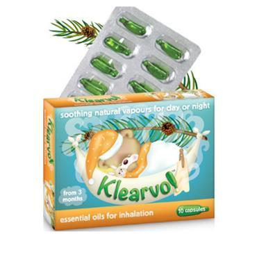 KLEARVO KLEARVO ESSENTIAL OILS FOR INHALATION 10 CAPSULES