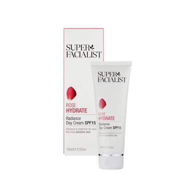 SUPER FACIALIST SUPER FACIALIST ROSE HYDRATE RADIANCE DAY CREAM SPF15 75ML