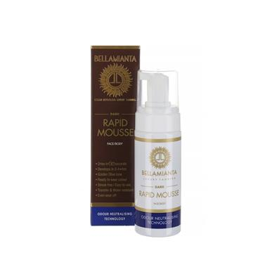 BELLAMIANTA DARK RAPID TANNING MOUSSE 200ML