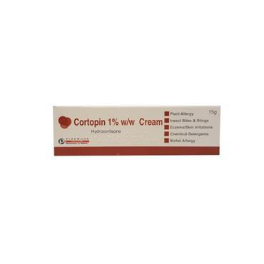 CORTOPIN 1%  HYDROCORTISONE CREAM 15G OTC