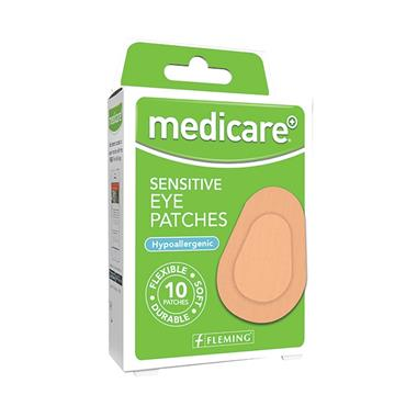 MEDICARE MEDICARE SENSITIVE EYE PATCHES 10 PACK