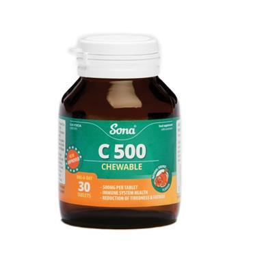 SONA C 500 CHEWABLE Sona C 500 Chewable