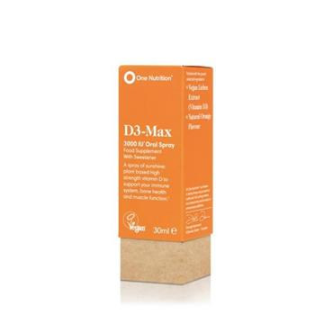 ONE NUTRITION ONE NUTRITION D3- MAX 4000IU ORAL SPRAY