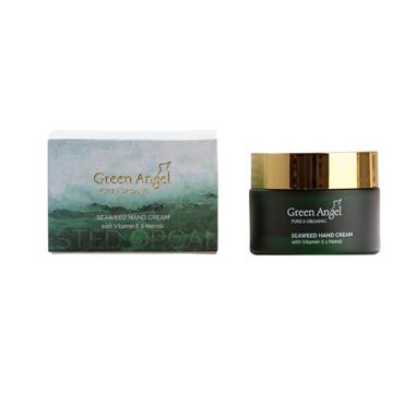 GREEN ANGEL GREEN ANGEL SEAWEED HAND CREAM  WITH VITAMIN E & NEROLI 50ML