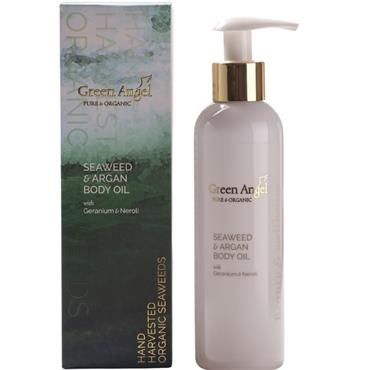 GREEN ANGEL GREEN ANGEL NEROLI GERANIUM ARGAN BODY OIL 200ML
