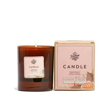 THE HANDMADE SOAP COMPANY THE HANDMADE SOAP COMPANY GRAPEFRUIT & MAY CHANG CANDLE