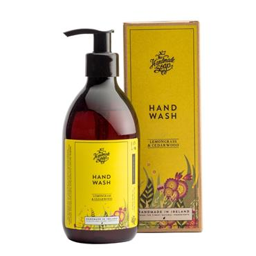 The Handmade Soap Company The Handmade Soap Company Lemongrass & Cedarwood Hand Wash 300ml