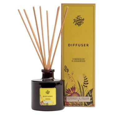 The Handmade Soap Company The Handmade Soap Company Lemongrass & Cedarwood Diffuser (180ml)