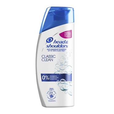 HEAD&SHOULDERS HEAD&SHOULDERS CLASSIC CLEAN ANTI DANDRUFF SHAMPOO 250ML