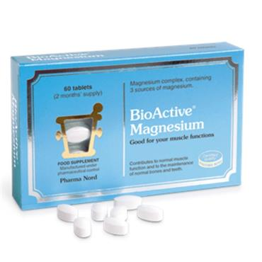 Pharmanord Bioactive Magnesium Tablets 60's