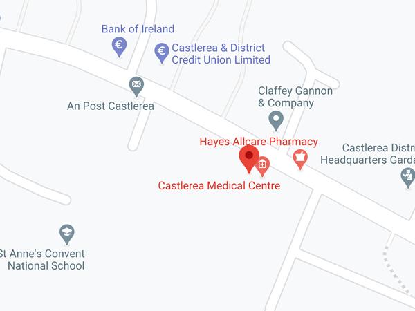 Castlerea, Co.Roscommon Barrack Street, Castlerea, Co. Roscommon, F45 CK09