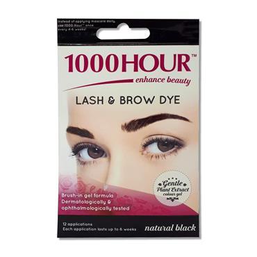 1000 Hour Lash N Brow Dye Natural Black Black
