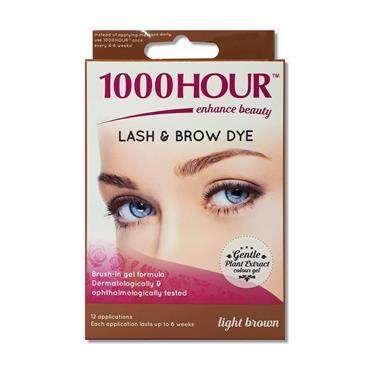 1000 Hour Lash N Brow Dye Light Brown