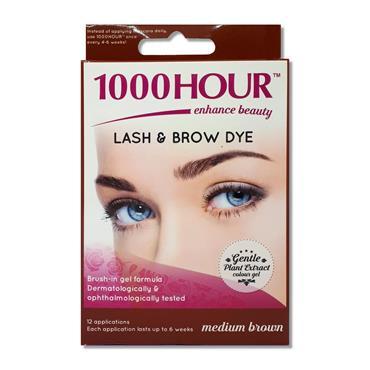 1000 Hour Lash N Brow Dye Medium Brown