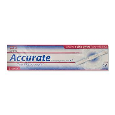 Accurate Home Pregnancy Test x 1