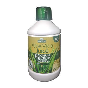 Aloe Pura Aloe Vera Jce Maximum Strength 500Ml