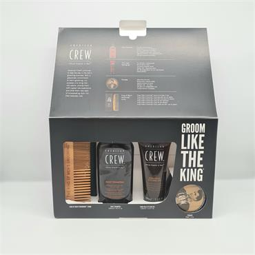 American Crew The King Gift Set