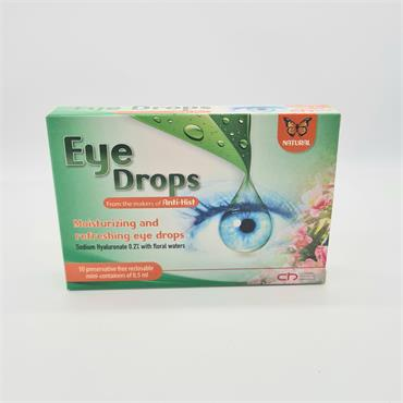 Anti Hist Eye Drops - 10x0.5ml -Moisturising and Refreshing