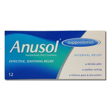 Anusol Suppositories 0