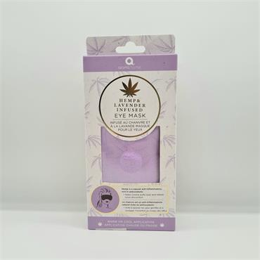 Hemp and Lavender Infused Eye Mask - Warm or Cold Application