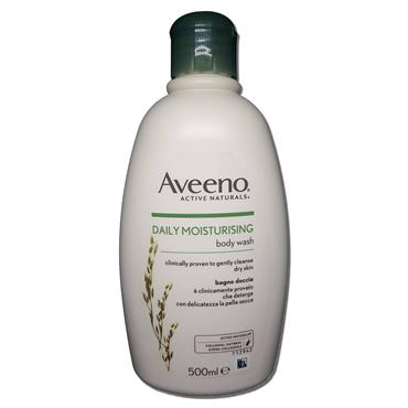 Aveeno Body Wash Dry N Sensitive Skin 500ml