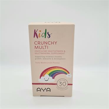 AYA Kids Crunchy Multi-Vitamin 30 tablets