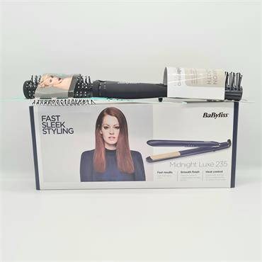 Babyliss Hairdryer & Straightner Set - Midnight Blue
