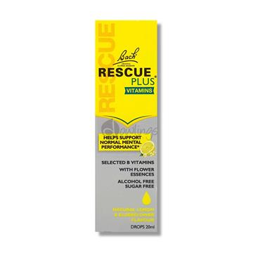 Bach Rescue Plus Vitamins Drops 20ML