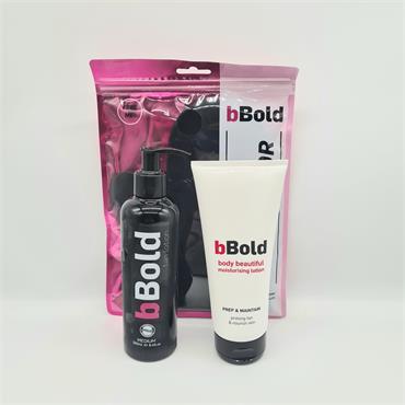 Bbold Tanning Lotion Medium Set