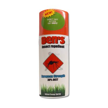 Ben's Insect Repellent - European Strength 30% DEET