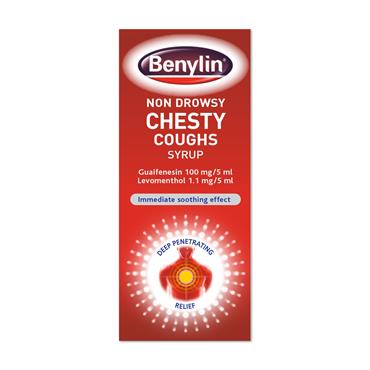 Benylin Non Drowsy For Chesty Coughs 125ml
