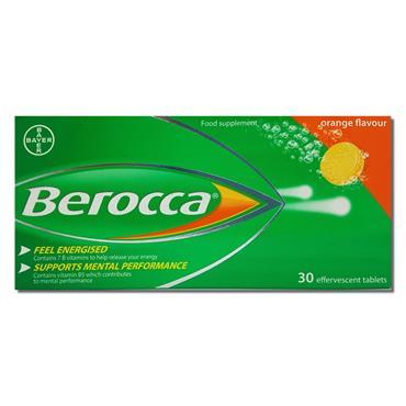 Berocca 30S Orange Effervescent