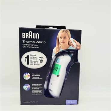 Braun ThermoScan 6 Ear Thermometer