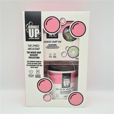 Bubble Up You Smell Delicious - Shower Scrub & Bath Fizzer