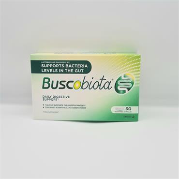 Buscobiota Daily Digestive Support 30 Capsules