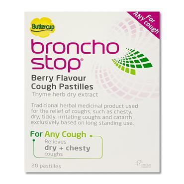 Buttercup Broncho Stop Pastilles