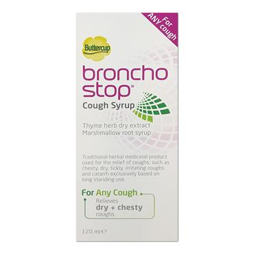 Buttercup Broncho Stop Cough Syrup 120ml