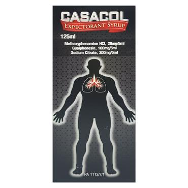 Casacol Syrup 125 ml