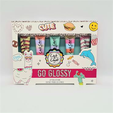 Chit Chat Go Glossy Lip Collection Set