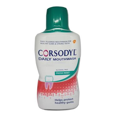Corsodyl Daily Mouthwash 500Ml