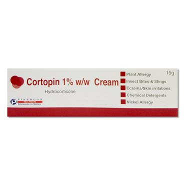 Cortopin Hydrocortisone 1%w/w Cream 15g