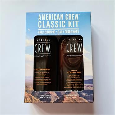 American Crew Classic Kit - Daily Shampoo and Conditioner Set