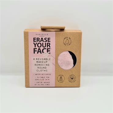 Danielle Erase Your Face - 4 Reusable Makeup Removing Pads