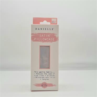 Danielle Satin Pillowcase - Grey