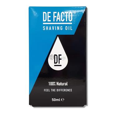 De Facto Shaving Oil 50ml
