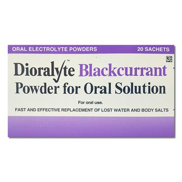 Dioralyte Blackcurrant Sachets 20 Pack